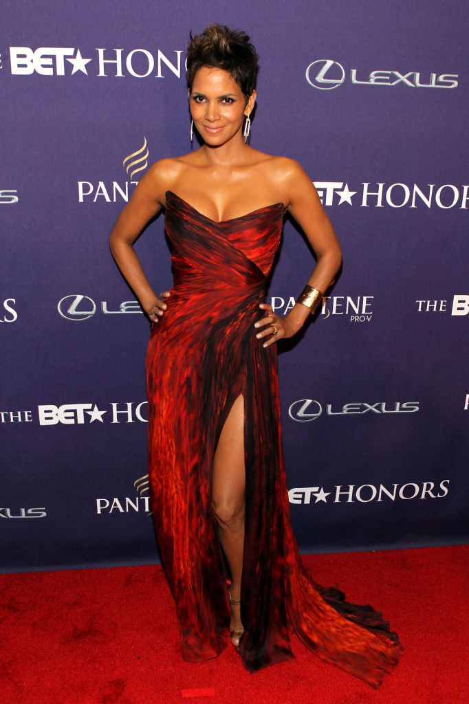 HALLE BERRY at The BET Honors