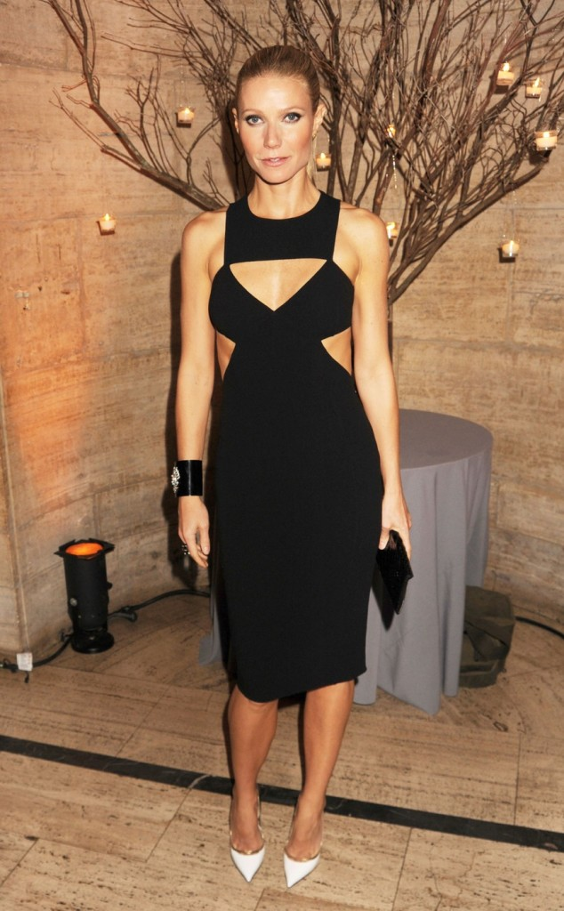 Gwyneth Paltrow attending the God's Love We Deliver 2012 Golden Heart Awards Celebration at the Cunard Building in New York City
